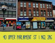 Nottingham student housing 40 Upper parliament street