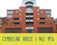 Nottingham student accommodation cymbeline house