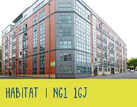 Nottingham student accommodation habitat