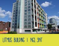 Nottingham Student Accommodation Litmus Building