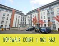 Nottingham Student Accommodation Ropewalk Court