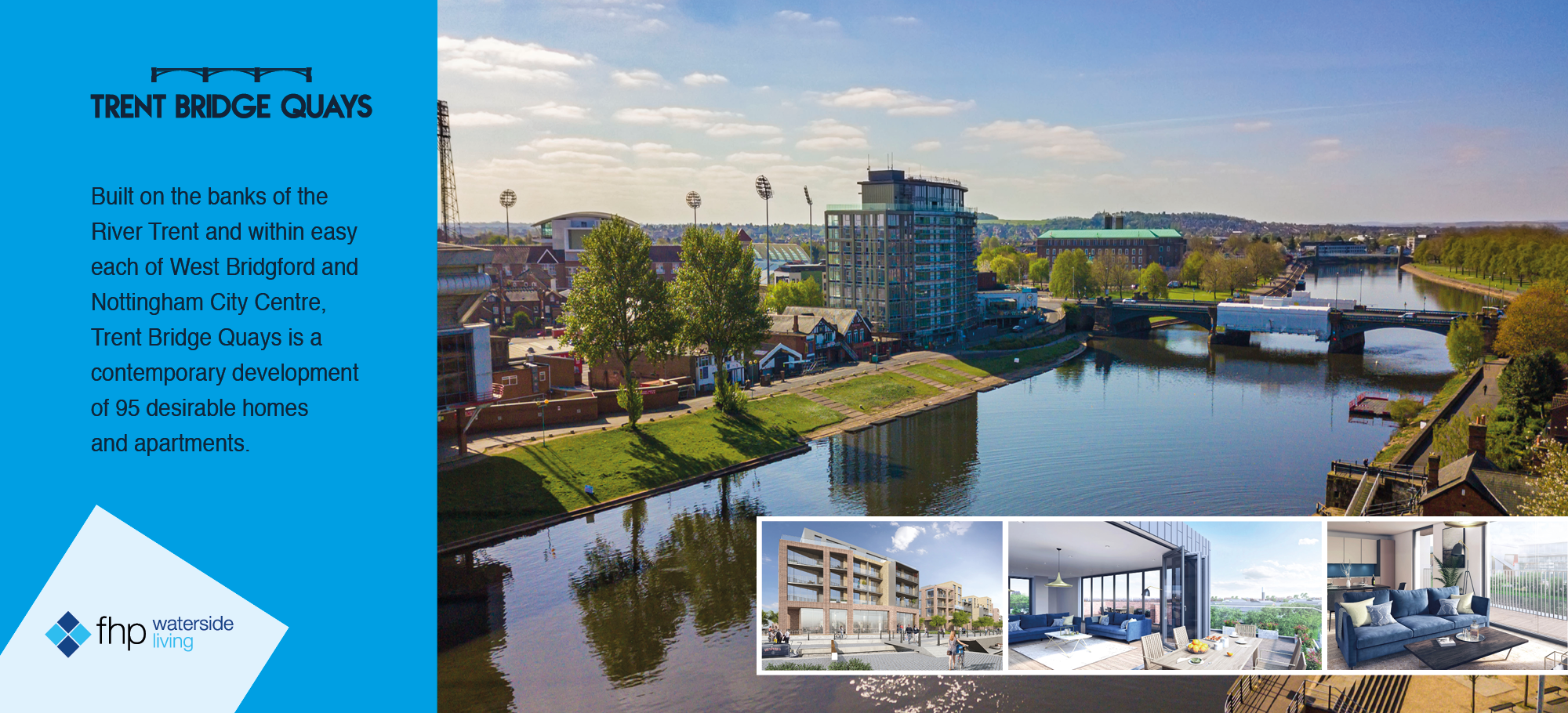 luxury waterside apartments at trent bridge nottingham