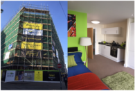 Hydrogen student accommodation construction