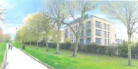 Elm Walk development (artists impression) - luxury Mapperley Park property