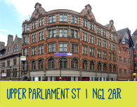 nottingham student accommodation within 29a upper parliament street