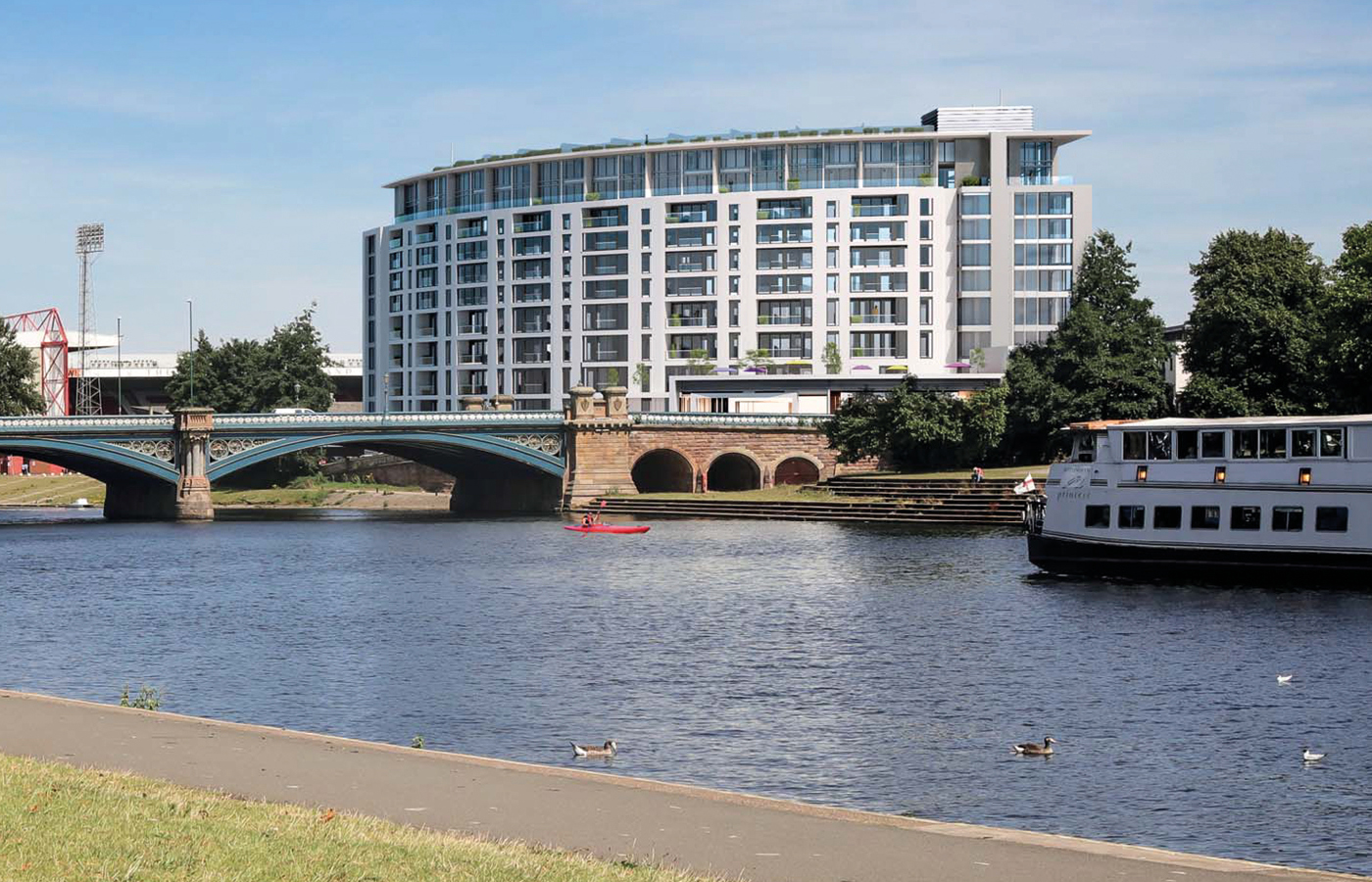 luxury waterside apartments west bridgford nottingham