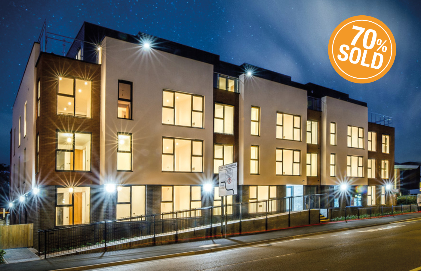 luxury apartments west bridgford nottingham (cgi image)