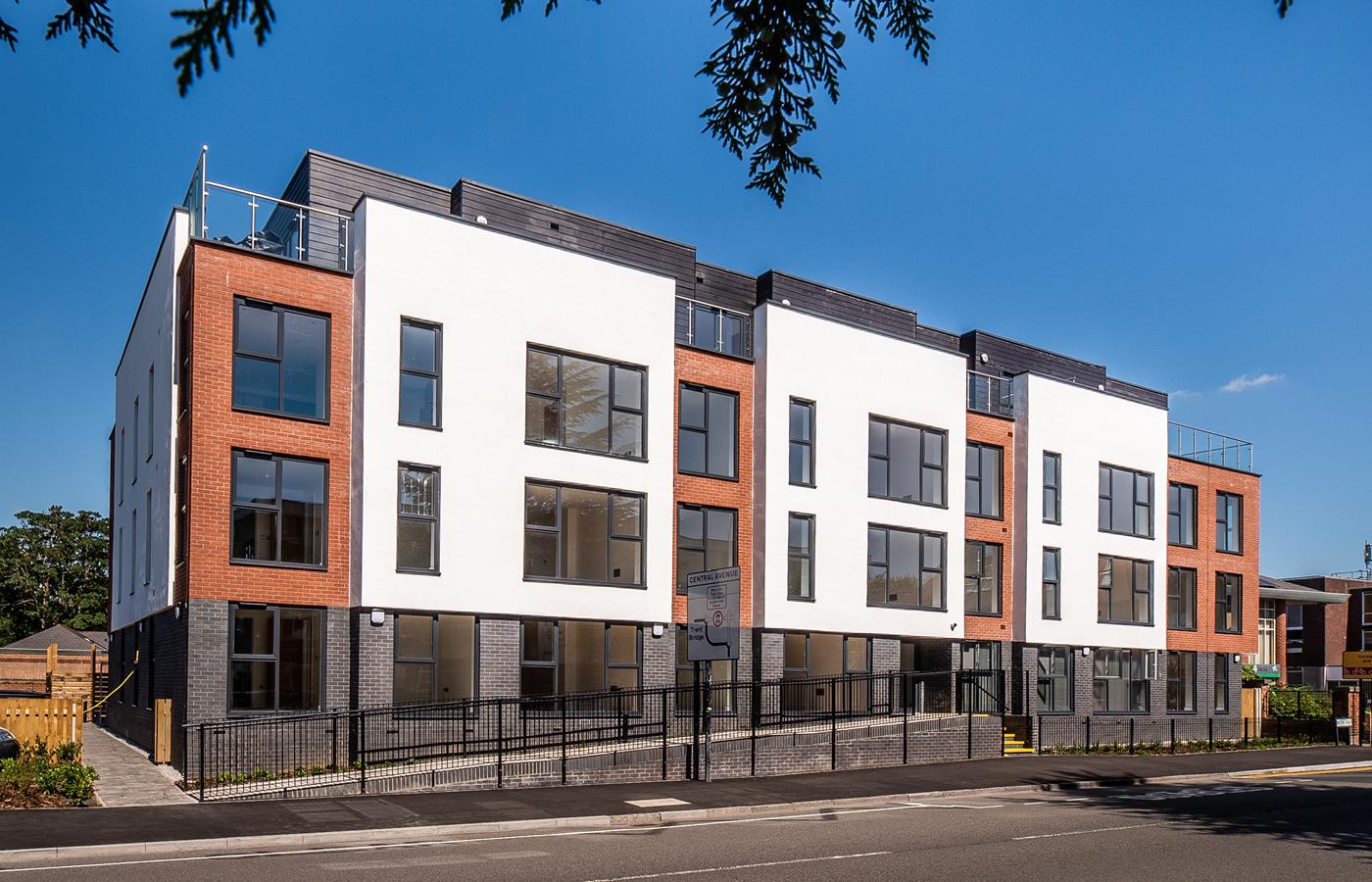 luxury apartment nottingham bridgford place streetview