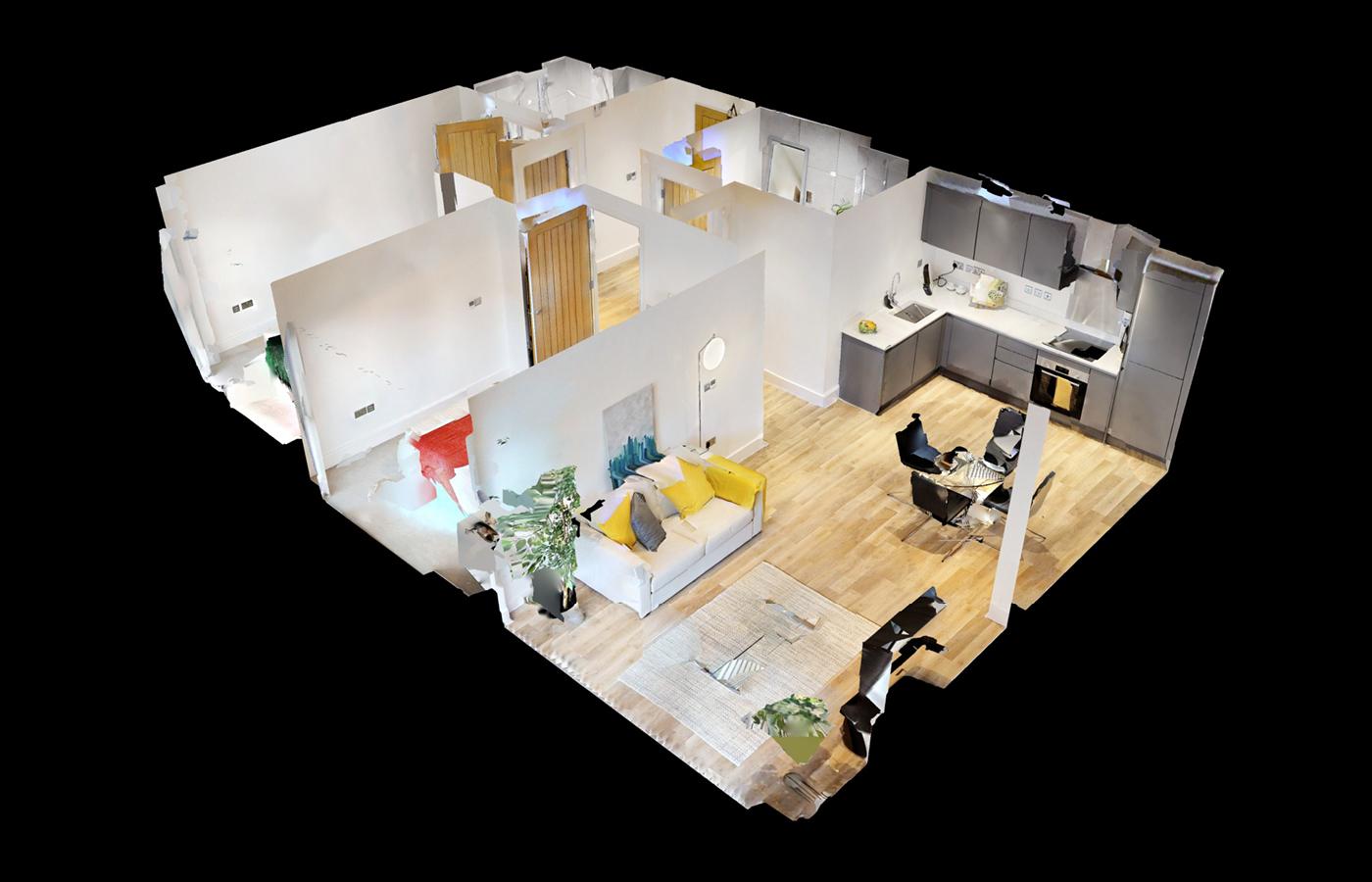 luxury apartment nottingham bridgford place schematic