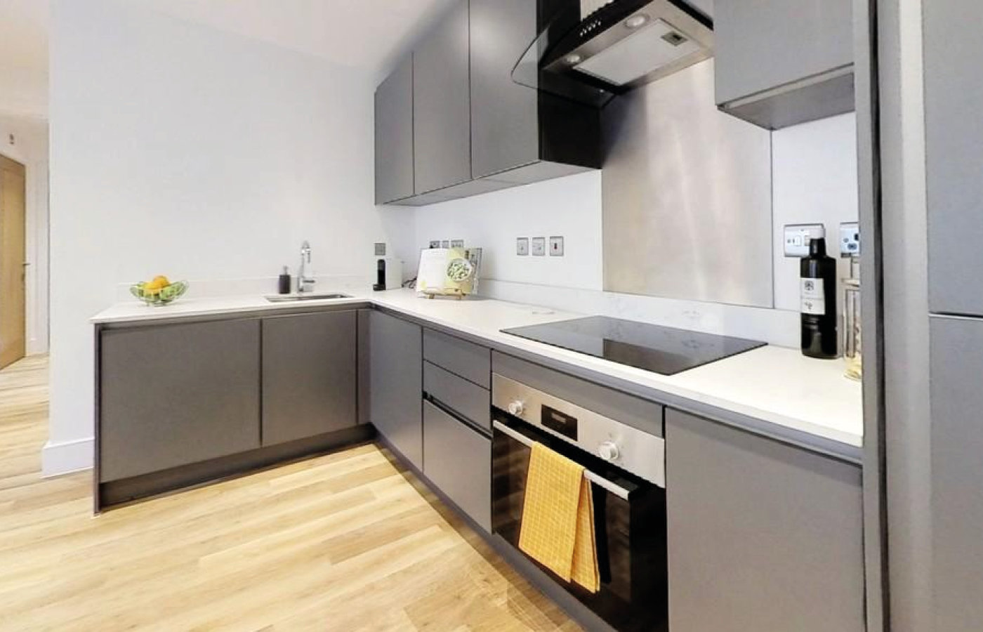 luxury apartment nottingham bridgford place kitchen