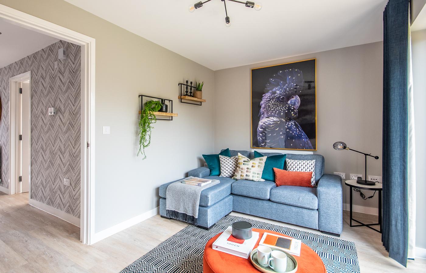 luxury apartment nottingham pelham waterside living room
