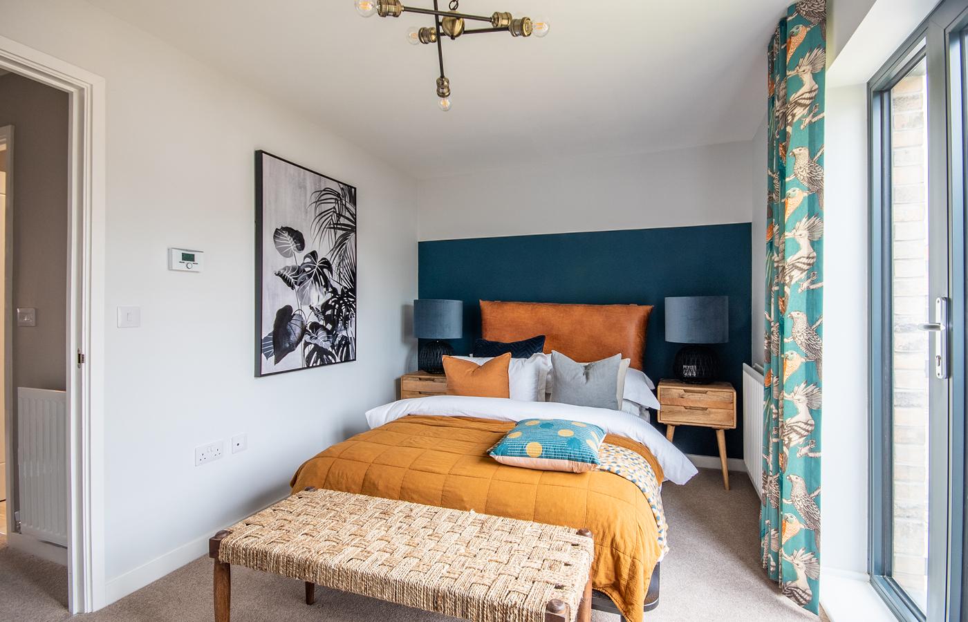 luxury apartment nottingham pelham waterside bedroom