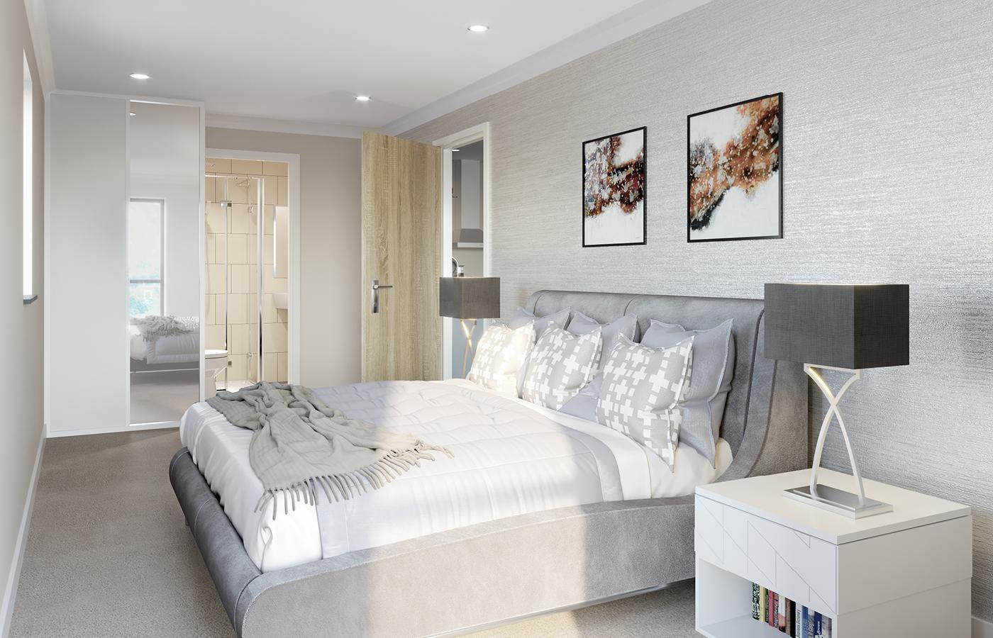 luxury apartment nottingham the yacht club bedroom