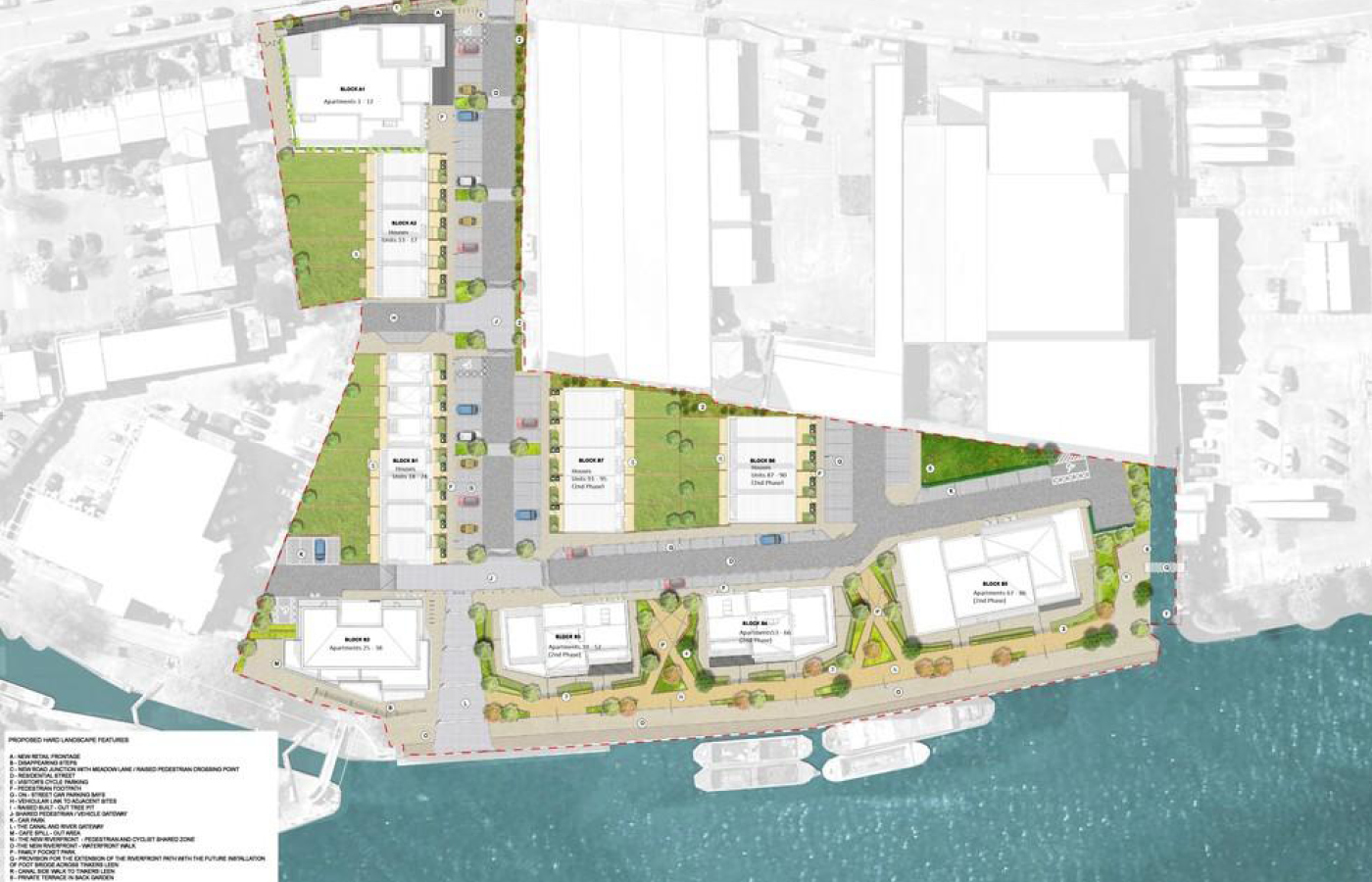 luxury apartment nottingham trent bridge quays overall plan