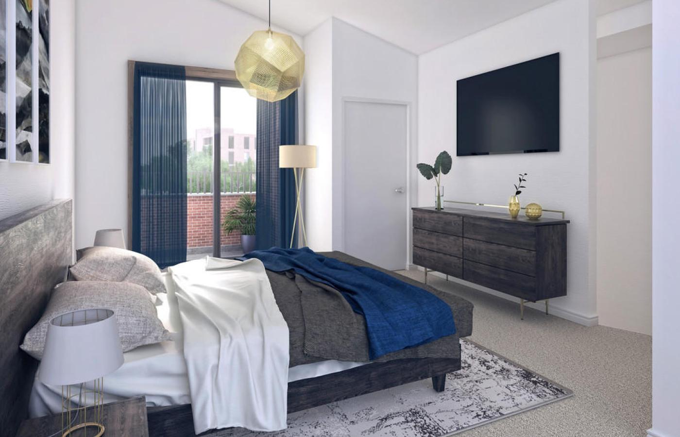 luxury apartment nottingham trent bridge quays bedroom