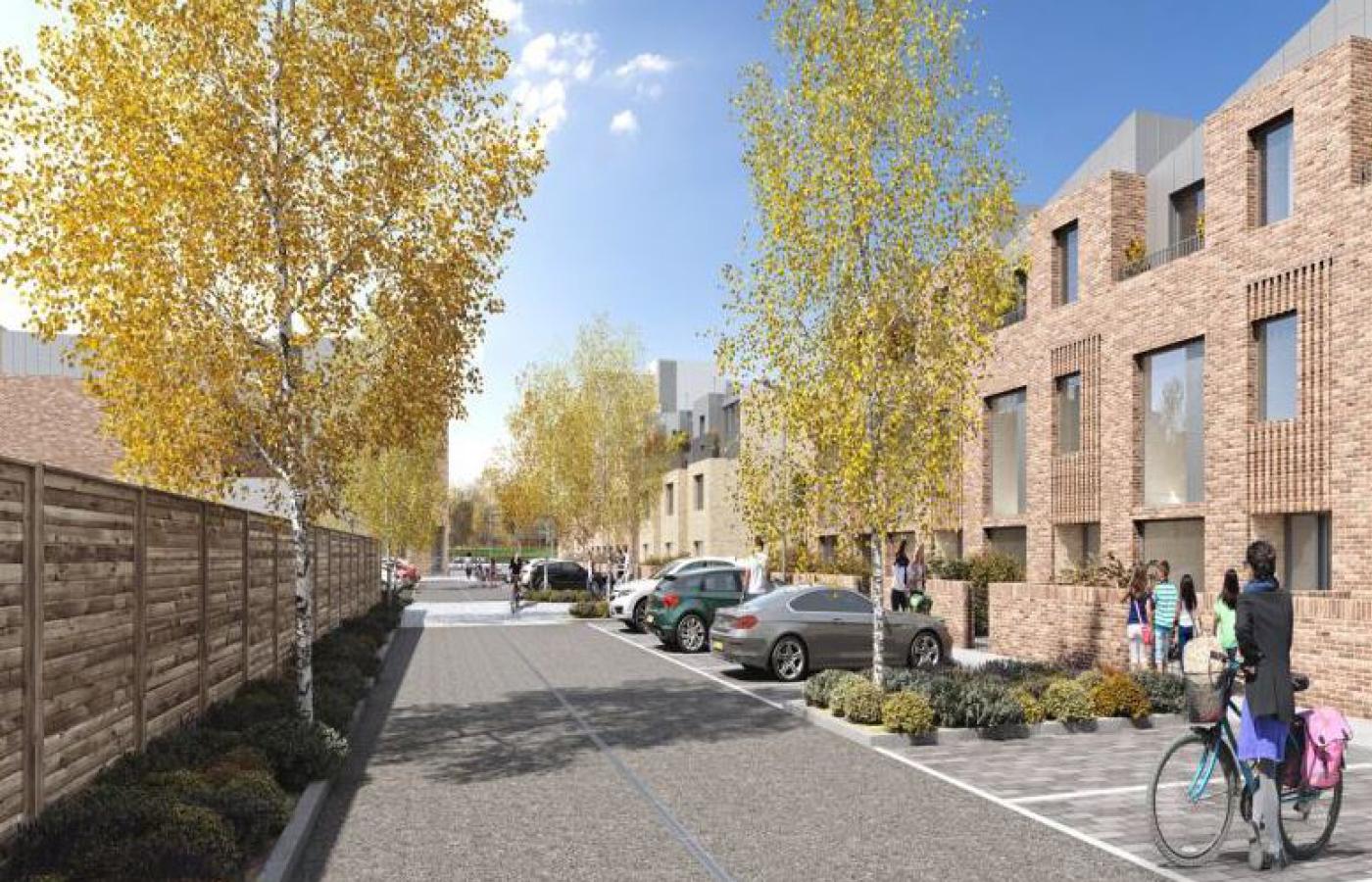 luxury waterside apartments nottingham (cgi image) parking