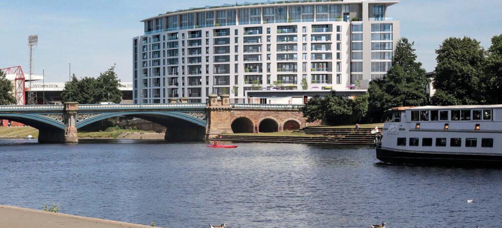 luxury apartment nottingham the waterside at trent bridge