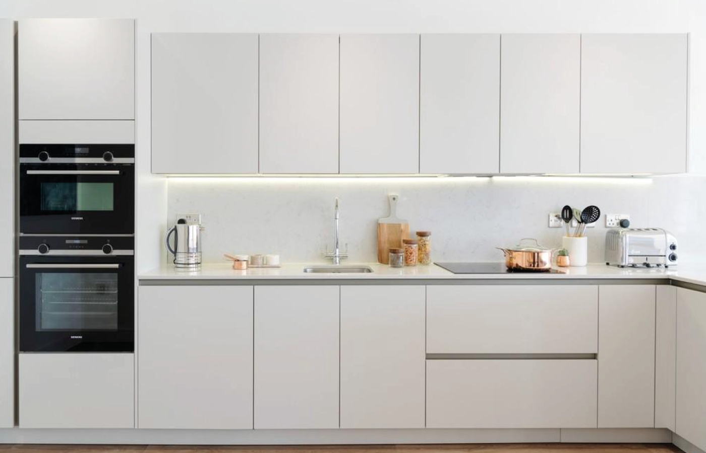 luxury apartment nottingham the waterside kitchen