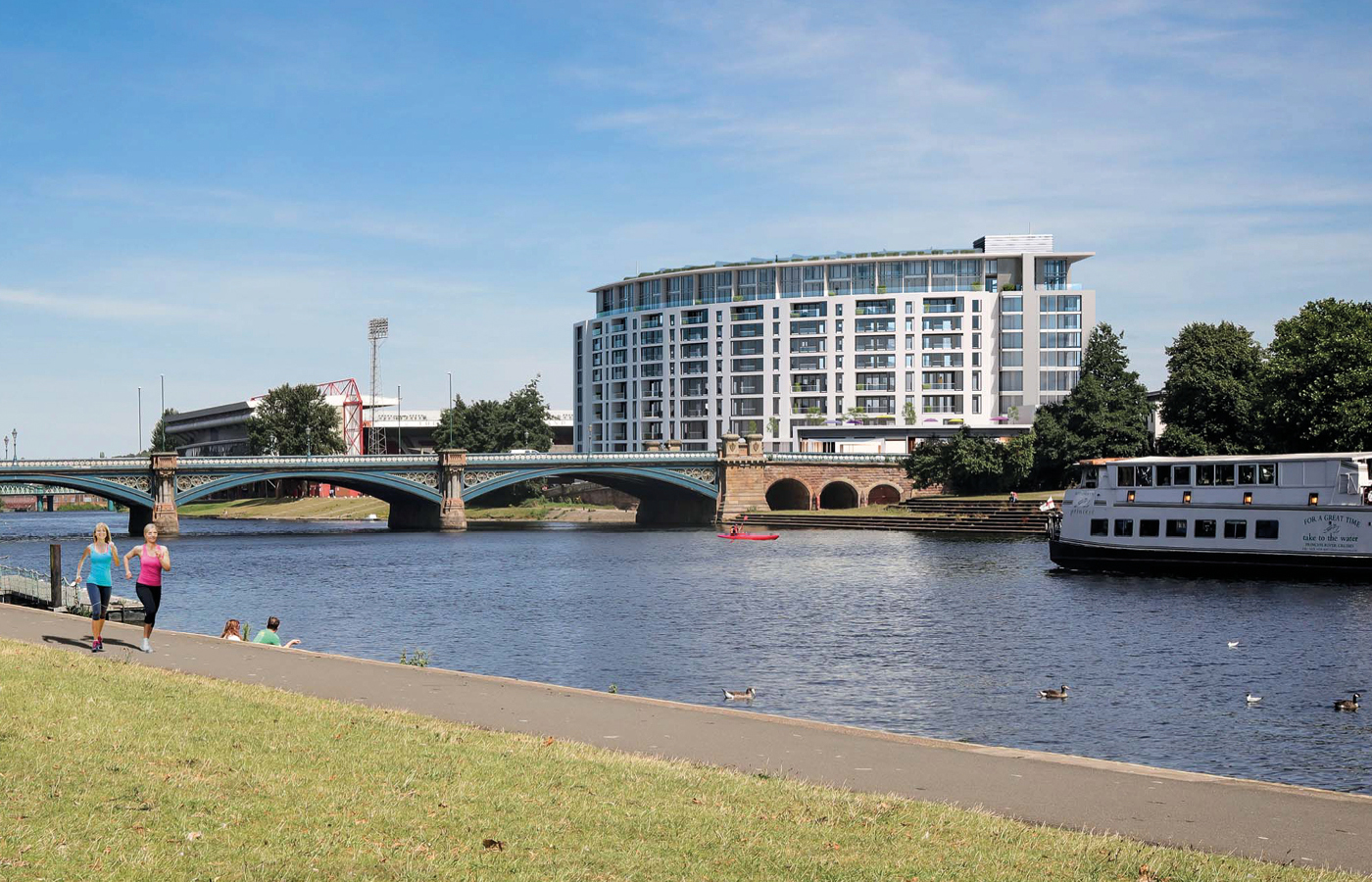 luxury waterside apartments at nottingham trent bridge