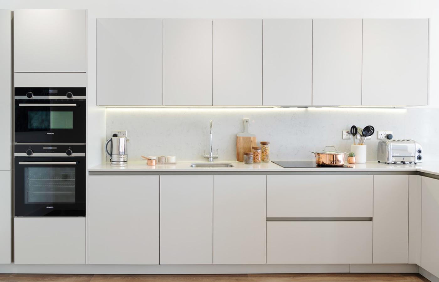 luxury waterside apartments nottingham kitchen