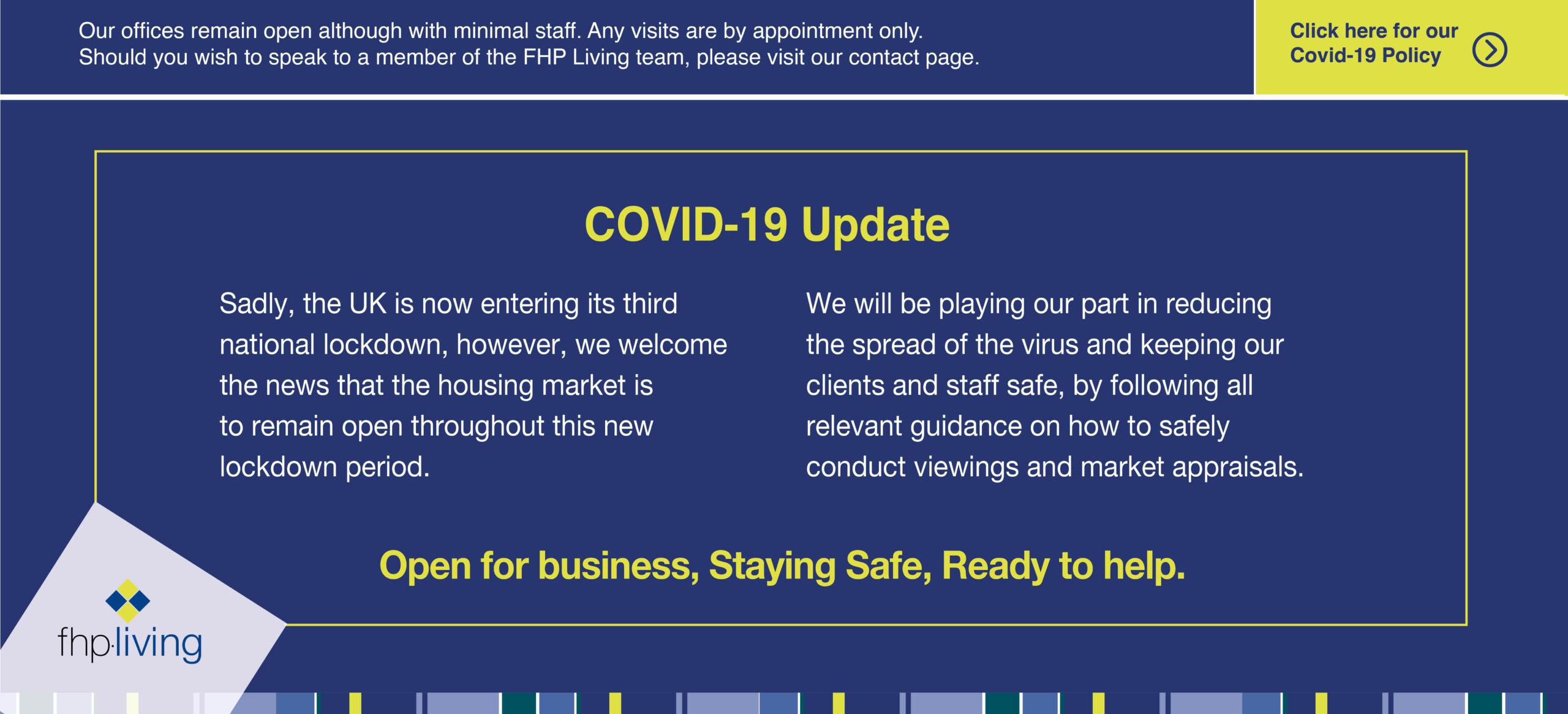 covid secure estate agent offices nottingham